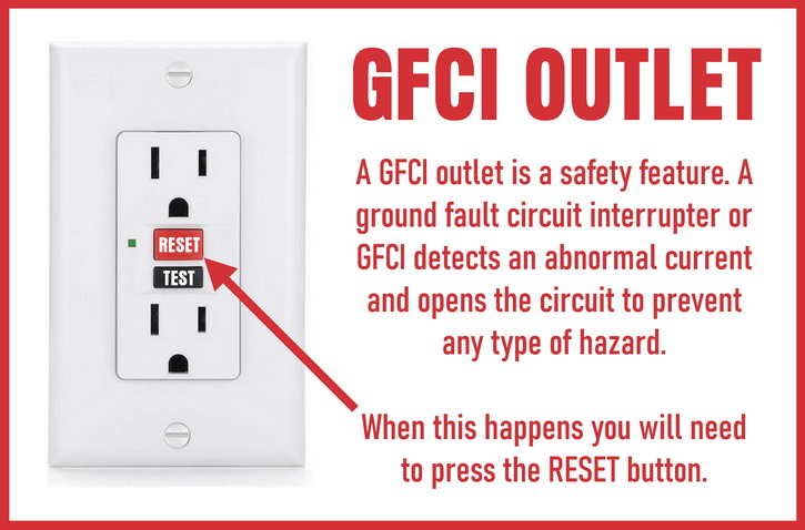 Outdoor Electrical GFCI Outlet Has Stopped Working