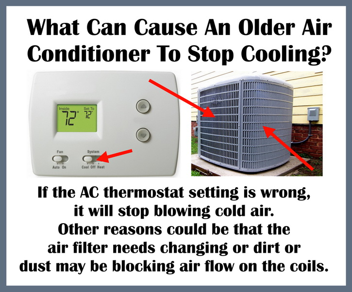 What Can Cause The Air Conditioner To Stop Cooling