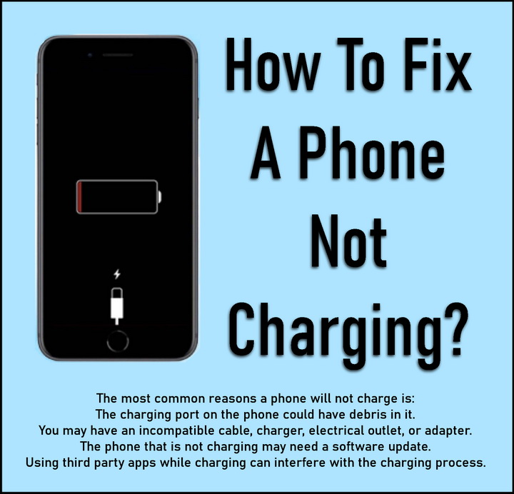 How To Fix A Phone Not Charging